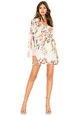 Tularosa Robin Dress in Dahlia Floral