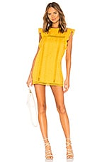 Tularosa Clayton Dress in Mustard
