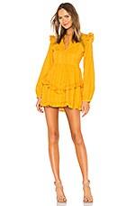 Tularosa Lisa Dress in Mustard