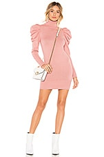 Tularosa Marsha Sweater Dress in Rose