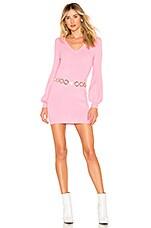 Tularosa Mateo Sweater Dress in Pink