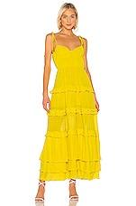 Tularosa Tinsley Dress in Vibrant Yellow