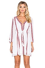 Tularosa Libertine Tunic Dress in White