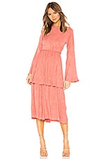 Tularosa Kennedy Dress in Dusty Rose