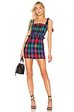 Tularosa Jackie Dress in Black Check