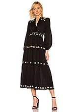 Tularosa Carter Dress in Black