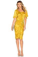 Tularosa Kinsley Dress in Golden Yellow