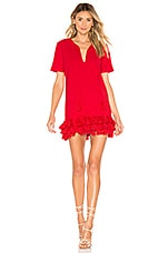 Tularosa Samantha Dress in Bright Red