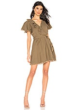 Tularosa Elias Dress in Olive Green