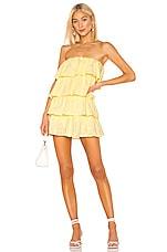 Tularosa Finley Dress in Pastel Yellow