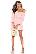 Tularosa Luna Dress in Baby Pink
