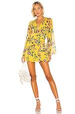 Tularosa Robin Dress in Yellow Dahlia
