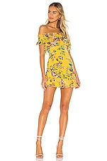 Tularosa Lanzo Dress in Yellow Dahlia