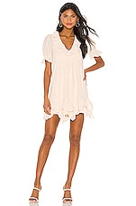 Tularosa Marjorie Dress in Creme