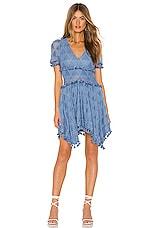 Tularosa Felice Dress in Slate Blue
