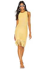 Tularosa Marissa Dress in Yellow