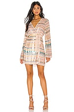 Tularosa Robin Dress in Pink Multi