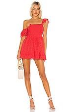 Tularosa Sophia Dress in Berry Red