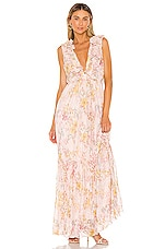 Tularosa Gillian Dress in lt Rose Floral