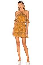 Tularosa Chrissy Dress in Mustard Floral