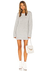 Tularosa Brinley Sweater Dress in Light Grey