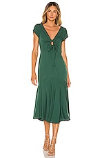 Tularosa Avalynn Dress in Emerald Green