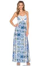 Tularosa Carolina Dress in Blue Multi