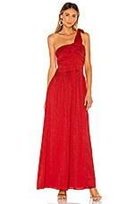 Tularosa Phoebe Dress in Red