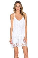 Tularosa Briar Mini Dress in White