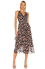 Tularosa Kyra Dress in Evening Berry Floral