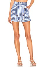 Tularosa Olena Short in Torrey Stripe