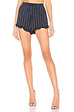 Tularosa Vacay Shorts in Navy Stripe