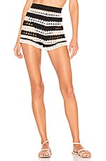 Tularosa Alison Shorts in Black & White
