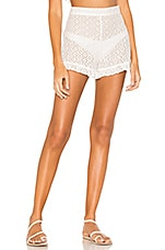 Tularosa Daisy Duke Short in White