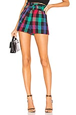 Tularosa Greyson Shorts in Black Check