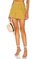 Tularosa Margo Short in Mustard Yellow