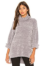 Tularosa Payson Chenille Sweater in Gray