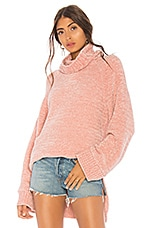 Tularosa Payson Chenille Sweater in Pink