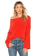 Tularosa Nora Sweater in Red