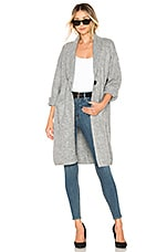 Tularosa Bristol Sweater Jacket in Grey