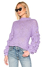 Tularosa Chunky Sleeve Sweater in Lavender