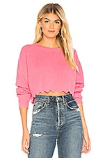 Tularosa Derry Chenille Sweater in Pink