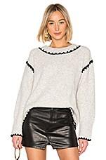 Tularosa Piper Sweater in Heather Grey