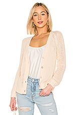 Tularosa Heavenly Cardigan in Nude
