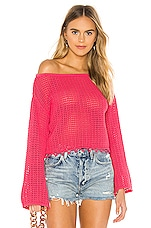 Tularosa Topanga Sweater in Rose