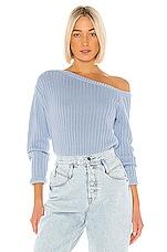 Tularosa Cole Sweater in Dusty Blue