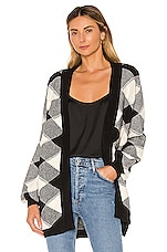 Tularosa Tanner Duster in Black & Ivory