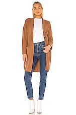 Tularosa Bristol Sweater Jacket in Brown