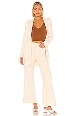 Tularosa Erin Wrap Cardigan in Light Tan