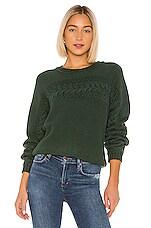 Tularosa Sophia Sweater in Forest Green